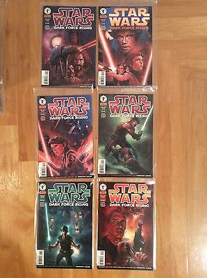 Dark Horse Comics Star Wars Dark Force Rising Mini-series Comic Number 1 - 6 VGC