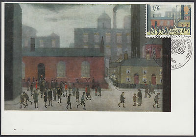 1967 British Paintings 1s6d Maximum Card'FDC';Art on Stamp Exhibition London SHS