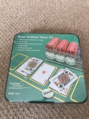 Texas Hold em Poker Kit  (Sealed)