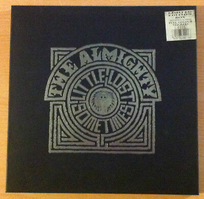 "THE ALMIGHTY ""Little Lost Sometimes""- Vinyl 12"" Limited Edition BOX -1991 UK"