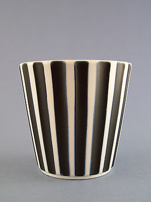 A Wedgwood Matt Ribbed Vase by Norman Wilson c1957 - Perfect Condition