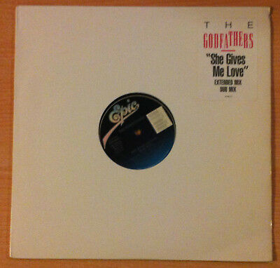 "THE GODFATHERS ""She Gives Me Love"" MIX- Vinyl Ep 12"" - Epic  49 68818 - 1989 US"