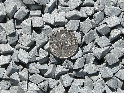 "Ceramic Tumbling Media 1 Lbs. 1/4"" X 1/4"" Abrasive Triangle - UFX - Very Aggress"