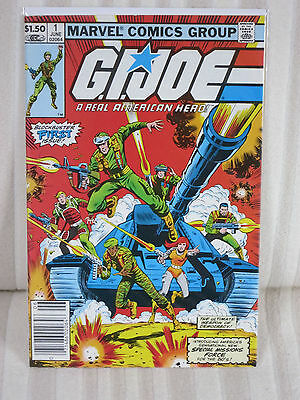GI Joe #1 - Marvel Comics 1982 - NM/M - SCARCE