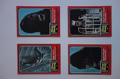 King Kong 1976 BASE SET - Topps