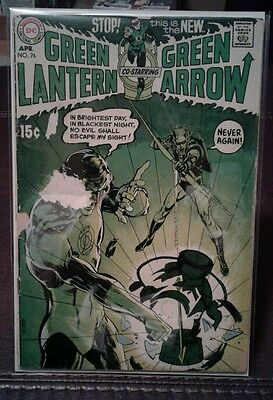Green Lantern - #76 - DC Comics 1970 - Neal Adams / Green Arrow - VG