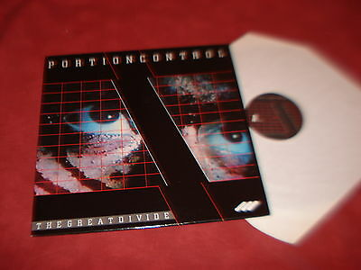 """PORTION CONTROL The great divide 12"""" NEW WAVE SYNTH"""