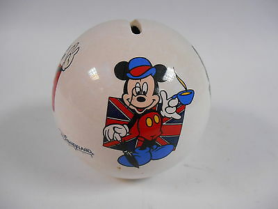 Disneyland Paris Vintage Mickey Mouse Ceramic Money Box