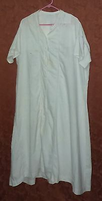Antique Victorian Early 1900's Ladies Cotton Nightgown/under Garment