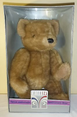Eatons 125Th Anniversary Bear 1869-1994 In Original Box - Excellent Condition