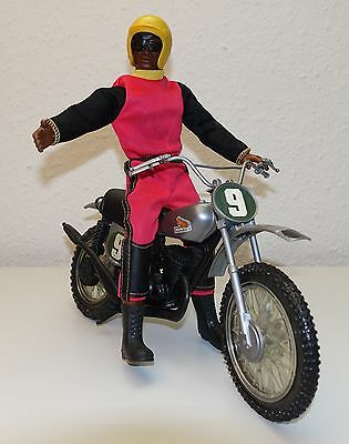 BIG JIM Jack im Outfit 9432 Motocross + 7373 Honda Elsinore CR250M - TOP