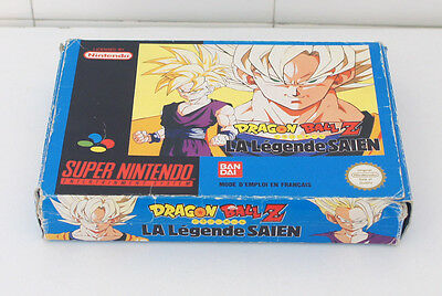 Super Nintendo Snes - Dragon Ball Z la legende Saien (SFRA) BOITE SEULE