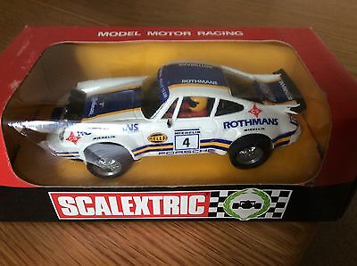 Scalextric  Spanish 4069 Porsche 911 Rothmans Mint Boxed