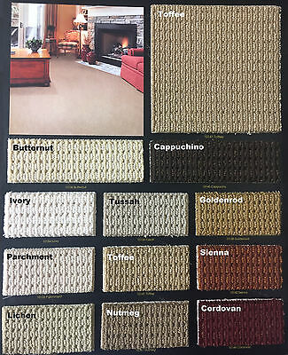 Marquess Style in 12 New Colors 100% Wool – TRUE Bullnose™ Carpet Stair Tread