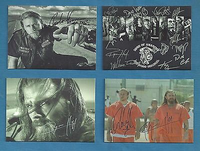 SONS OF ANARCHY Autograph RP ( LOT 4)  HQ Glossy  Fridge Magnet 04