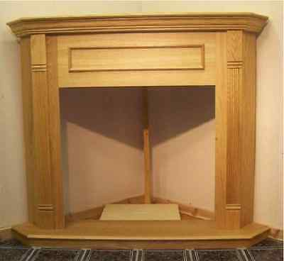 "Majestic CFM Corner Cabinet for Gas fireplace 36"" Mantel - Honey Oak, FOCH36,"