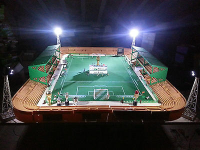 "SUBBUTEO FANS 4 Floodlights modified with leds stadium ""please see other items"""