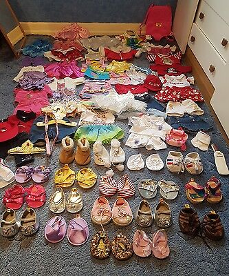 MASSIVE build a bear bundle - job lot - over 100 items! Scroll to see more pics
