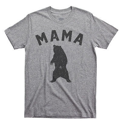 4652040d8 Mama Bear T Shirt Mothers Day Mom Life Baby Shower Maternity Reveal Gift Tee