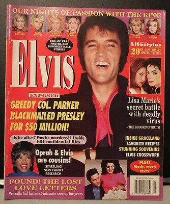 Elvis Exposed lifestyles of the rich & famous 20th anniversary special edition