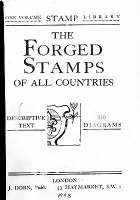 Forged Stamps of All Countries - Dorn