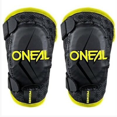 Oneal Motocross Peewee Elbow Guard Blk/hi Viz Youth