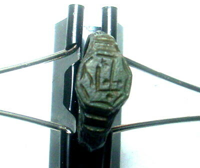 ``Hand Holding Sword``Byzantine or medieval crusaders  bronze ring