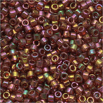 Miyuki Delica Seed Bead 15/0 Gold Red Luster Dbs103 4Gr