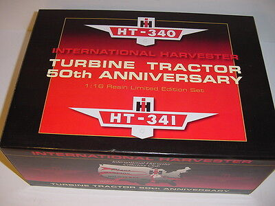 1/16 International HT-340 & HT-341 Experimental Tractor Set NIB! Never Displayed