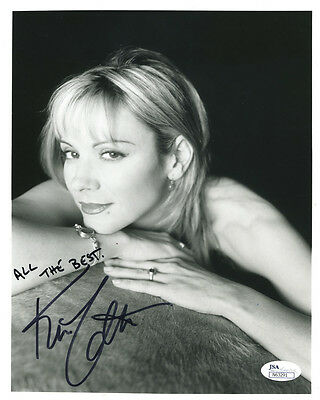 (SSG) KIM CATTRALL Signed 8X10 Photo with a JSA (James Spence) COA