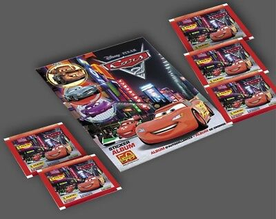 Cars 2 Panini Stickers Starter Kit with Album plus 40 Stickers