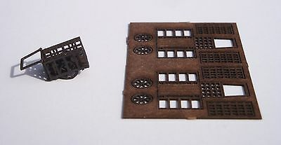 Laser Cut Delivery Baggage Cart - Builds 2 Per Kit - N Scale