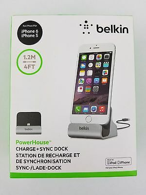 Belkin Iphone 5/6/7 Power House  Charge and Sync Dock  Station