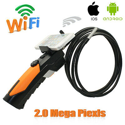 HD 720P Wireless WIFI Endoscope Video Inspection Snake Camera 2.0 3M Cable 8.5mm