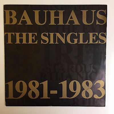 bauhaus vinyl the singles 1981 1983 beg100e lp cad 10. Black Bedroom Furniture Sets. Home Design Ideas