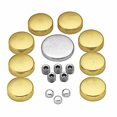 Volvo Penta gxi gl 5.0 5.7 V8 Freeze Frost Expansion Plug Kit Brass GM 305 305