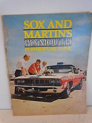 1971 Sox & Martin Plymouth Performance Clinic Catalog 28 pages