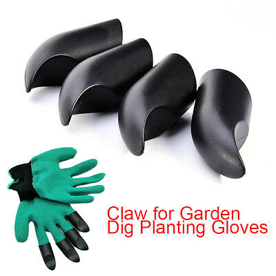 4PCS ABS Safety Work Gloves Builders Grip Gardening Dig Planting Gloves Mittens