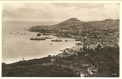 Madeira, View of Funchal From East. Rp Portugal