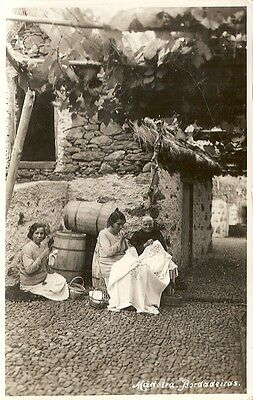 Madeira, Bordadeiras, Portugal. Rp Lace Workers