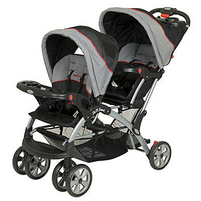 Baby Trend Sit N Stand Double Multiple Child Stroller - Millennium (Open Box)
