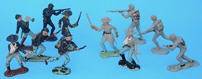 CRESCENT 60mm American Civil War ACW figures toy soldiers