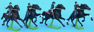 BRITAINS Deetail Union Cavalry 1/32 54mm figures ACW American Civil War