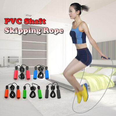 Skipping Rope Fitness Speed Jump Boxing Exercise Gym Jumping Workout Foam Padded