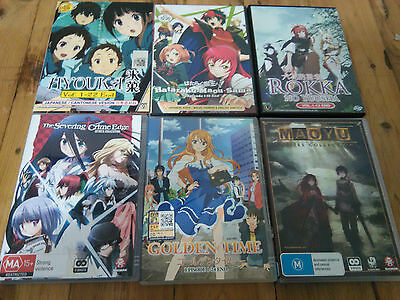 Anime series collection all are $25 each with Free Registered Post. All near new