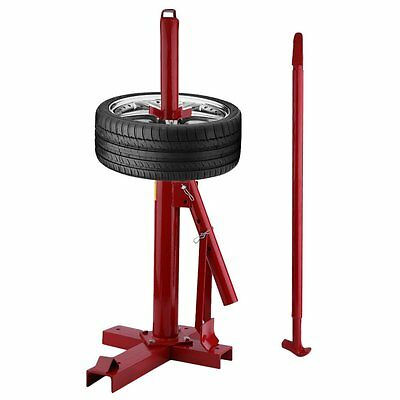 "Red Tyre Changer  Portable Car Bike Tire Garage Machine tires from 8"" to 16"" UK"