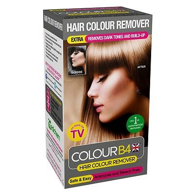 Color B4 Hair Colour Remover  'Extra Strength' solution