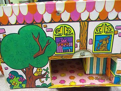 Vintage 1968 Mattel Doll House LIDDLE KIDDLES TALKING TOWNHOUSE town house