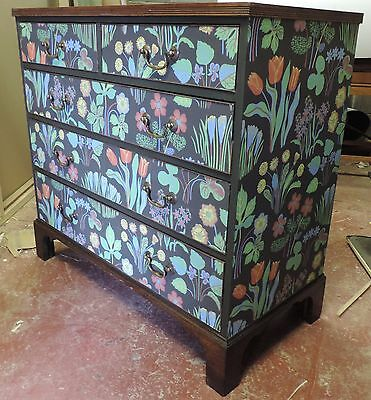 retro vintage chest of  drawers Josef Frank Heals 1950s antique swedish danish