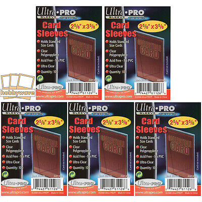 Ultra Pro Soft Sleeves/Penny Sleeves - 500 Pack